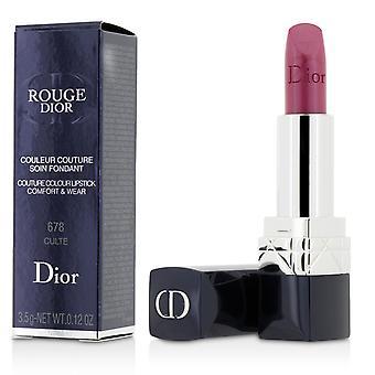 Rouge dior couture farge komfort og slitasje leppestift # 678 kult 208231 3.5g/0.12oz