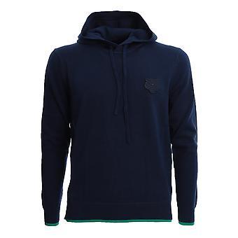 Kenzo Fa55pu5043ab77 Men's Blue Cotton Sweatshirt