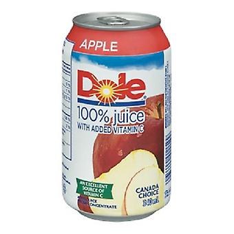 Dole Apple Juice 100 Percent-( 340 Ml X 12 Cans )