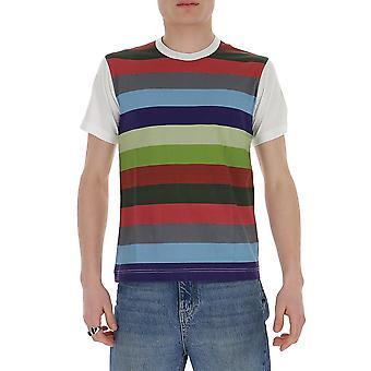 Comme Des Garçons Shirt S281031 Men's Multicolor Cotton T-shirt