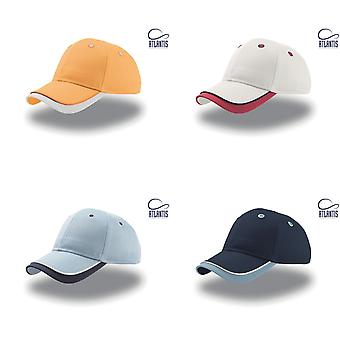 Atlantis Star Children/Kids 6 Panel Contrast Baseball Cap