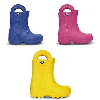 Crocs Childrens/Kids Handle It Wellington Boots