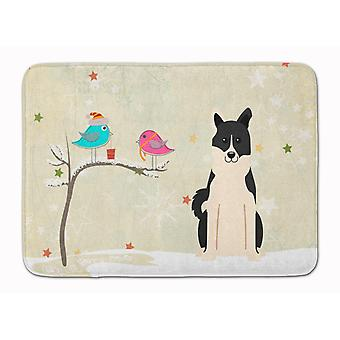 Christmas Presents between Friends Russo-European Laika Spitz Machine Washable M