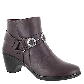 Easy Street Women's Bailey Ankle Boot, Burgund, 5,5 M US