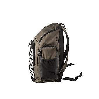 Arena Team Backpack Sports Swimming Gym Equipment Kit Bag - Army Print