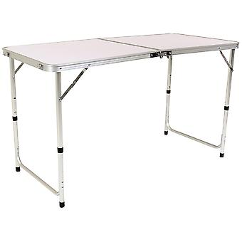 Charles Bentley Faltbare Camping Möbel Set Tragbare Picknicktisch 4 Stühle