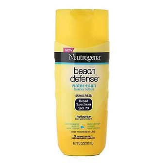 Neutrogena beach defense lotion, spf 70, 6.7 oz