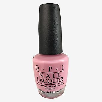 Opi nail lacquer - it's a girl 0.5 oz