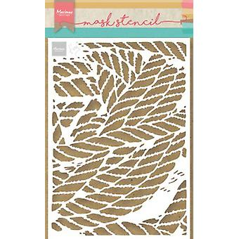 Marianne Design Stencil Tiny's Ropes Ps8031 149x149 mm