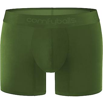 Comfyballs Wood Long Boxer - Olive Green