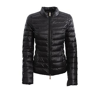 Patrizia Pepe Cs0178a503k103 Women's Black Nylon Down Jacket