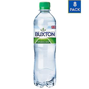 8 x 500ml Buxton Sparkling Mineral Water Healthy Soft Drink UK
