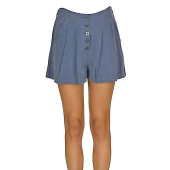 Ulla Johnson Ezgl292008 Women's Light Blue Outros Materiais Shorts