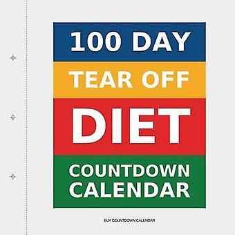 100 Day TearOff Diet Countdown Calendar by Buy Countdown Calendar