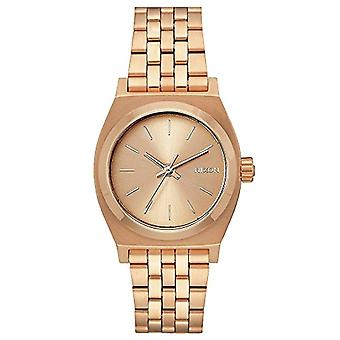 Nixon women's analog watch with metal plated stainless steel A1130897-00