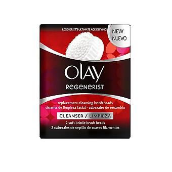 Olay Regenerist Replacement Cleansing Brush Heads 2 Soft Bristle Heads Cleanser/Limpieza
