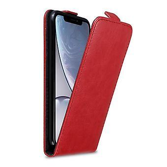 Funda Cadorabo para Apple iPhone XR funda de la funda - Voltear la funda del teléfono con cierre magnético - Funda de protección de la caja de la caja de la caja del libro del libro del plegable estilo