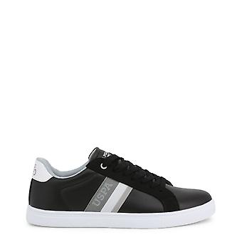 Man leather sneakers shoes ua38775