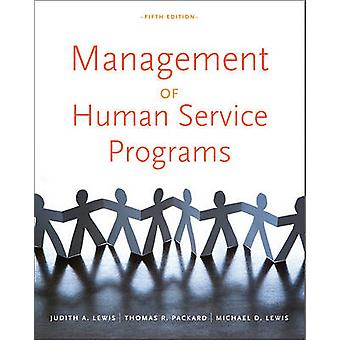 Management of Human Service Programs - 9780840034274 Book