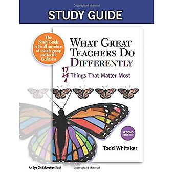 Guide d'étude: What Great Teachers Do Differently, 2nd Edition: 17 Things That Matter Most