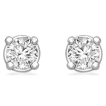 KJ Beckett Diamond korvakorut - Silver