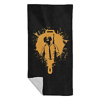 PlayerUnknown Battlegrounds Pan Helmet Splatter Beach Towel