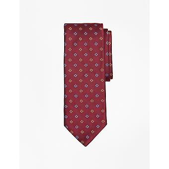Brooks Brothers Men's Silk Flower Print Tie