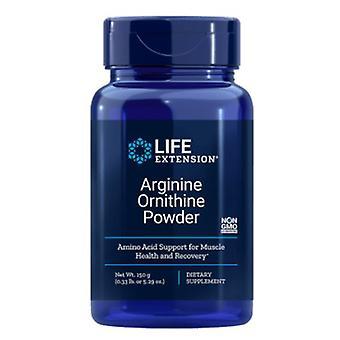 Arginine Ornithine Powder 150 Grams (5.29 Oz) - Life Extension