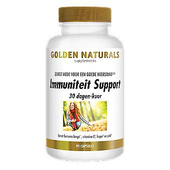 Golden Naturals Immunity Support 30-day course (90 vegetarian capsules)