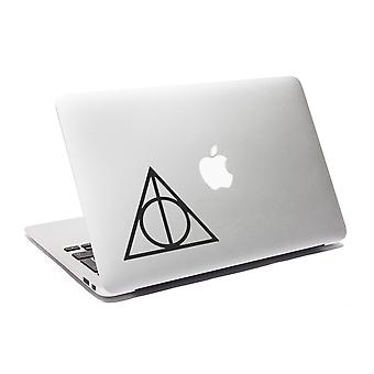 GNG Deathly Hallows Potter Laptop decal sticker Macbook sticker Car Window Sticker
