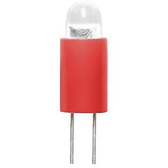 Barthelme Dioda LED Bi-pin 3.17 mm Czerwony 24 V DC 70117311