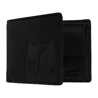Camel active mens wallet wallet purse with RFID-chip protection black 7377