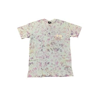 Stussy Tribe Tie Dye Ss Tee Lavender - Vêtements