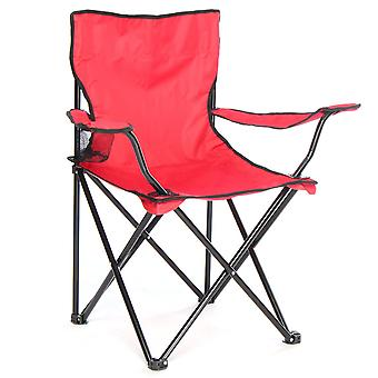 Portable outdoor folding chair for camping fishing etc
