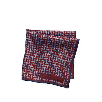 Brooks Brothers Men&s Schludny Print Pocket Square