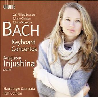 Bach, C.P.E./Bach, J.S./Bach, J.C. - C.P.E. Bach, J.C. Bach, J.S. Bach: Keyboard Concertos [CD] USA import