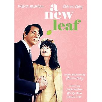 New Leaf (1971) [DVD] USA import