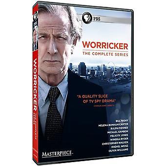 傑作: Worricker: 完全なシリーズ 【 DVD 】 USA 輸入