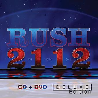 Rush - 2112-Deluxe Edition [CD] USA import