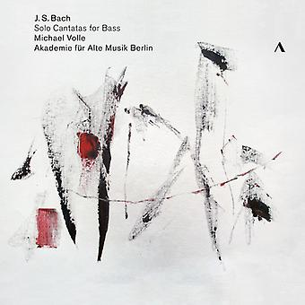 Bach*J.S. / Volle - Solo kantater for bas [CD] USA import