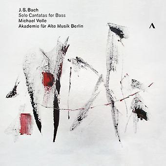 Bach*J.S. / Valvignères - Solo Kantaten für Bass [CD] USA import