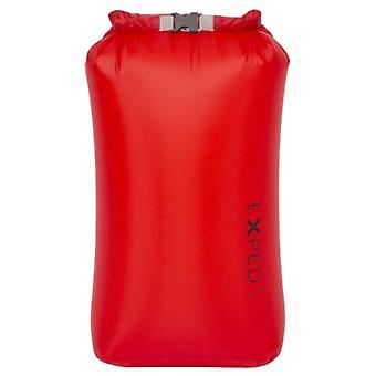 Exped Fold Drybag UL 8L Rood (Medium)