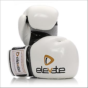 Elevate airtec boxing gloves - white black