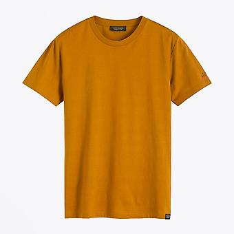 Scotch & Soda  - Stripe Crew Neck Tee - Mustard