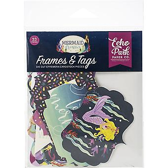 Echo Park Mermaid Dreams Frames & étiquettes