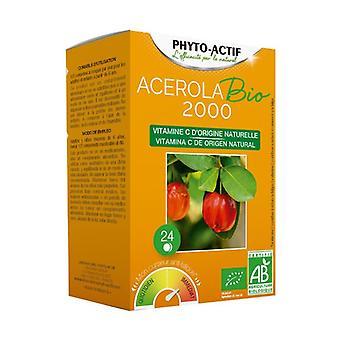 Organic Acerola 2000 24 tablets