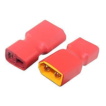 Adaptador feminino XT60 Masculino para Ultra Plug