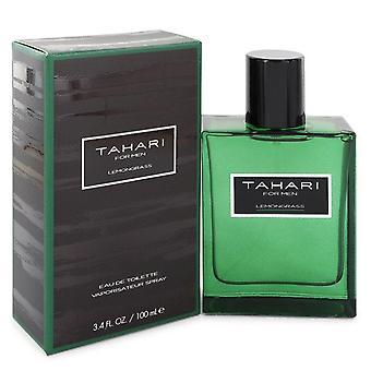 Tahari lemongrass eau de toilette spray by tahari 100 ml