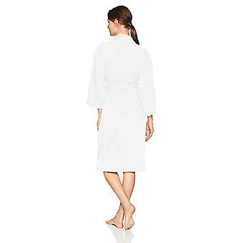 Merke - Arabella Kvinner's Baby Terry Kimono Wrap Kappe, Hvit, X-Large