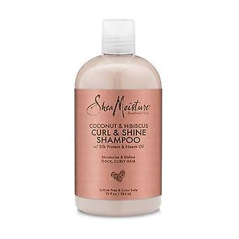 shampooing karité hydratant C&H Curl / 13oz 384 ml